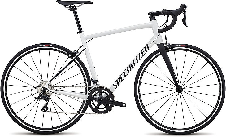 Specialized Cykel, Allez Sport 2019, Gloss Cosmic White/Satin Black