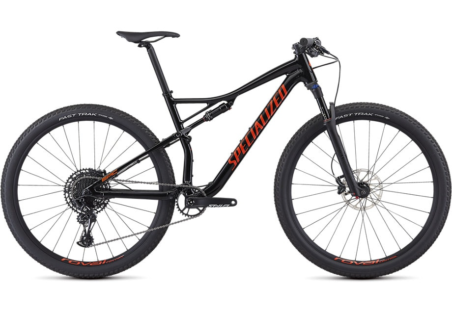 Specialized Cykel, Epic Comp Alloy 2019, Satin Black/Rocket Red