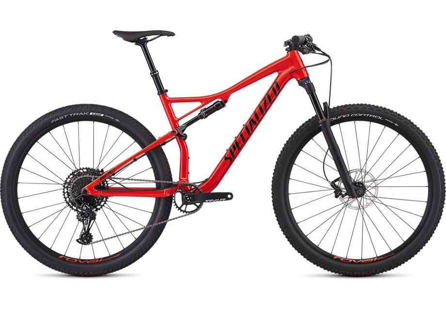 Specialized Cykel, Epic EVO Comp 2019, Gloss Rocket Red/Tarmac Black