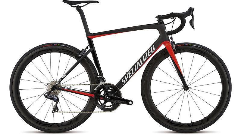 Specialized Cykel, Tarmac Pro Custom, Svart/Röd