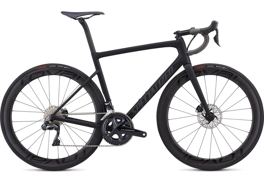 Specialized Cykel, Tarmac Disc Pro 2019, Satin Black/Holographic Black