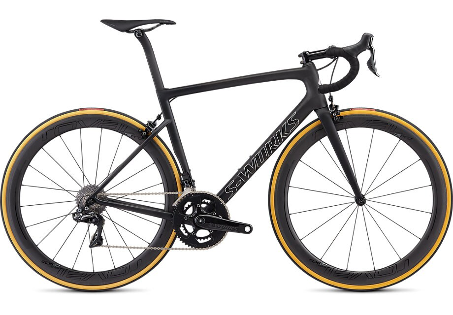 Specialized Cykel, Tarmac S-Works 2019, Satin Black/Silver Holo/Clean