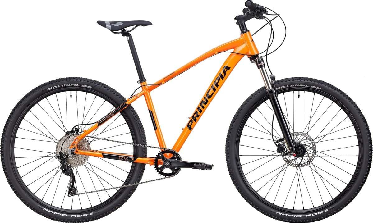 "Principia Cykel, Evoke A6.9 AIR 29"" 2020, Orange"