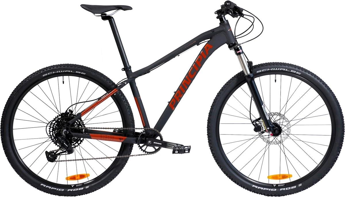 "Principia Cykel, Evoke LTD AIR 29"" 2020, Svart/röd"