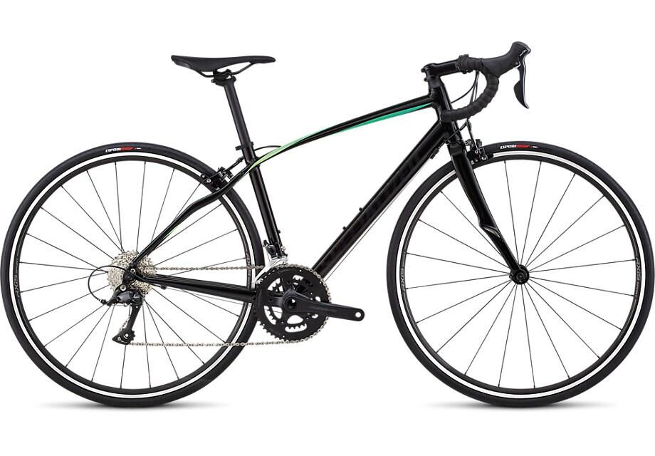 Specialized Cykel, Dolce Sport 2019, Gloss Satin Tarmac Black/Cali Fade
