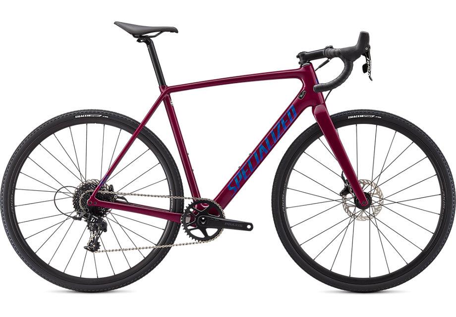 Specialized Cykel, Crux 2021, Gloss Raspberry/Chameleon