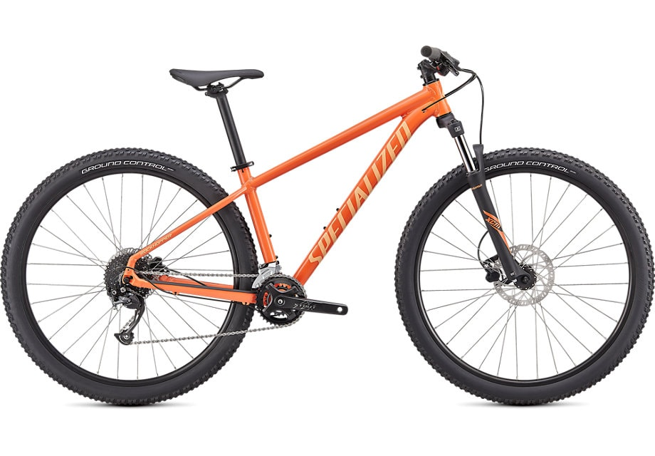 Specialized Cykel, Rockhopper Sport 27.5 2021, Gloss Blaze/Ice Papaya
