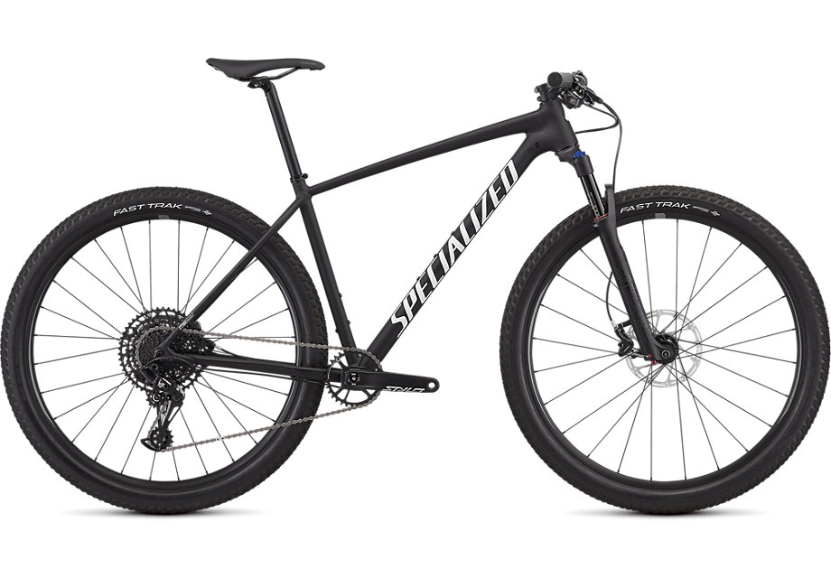 Specialized Cykel, Chisel Expert 2019, Satin Gloss Black/White