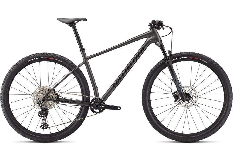 Specialized Cykel, Chisel 2021, Satin Gloss Smoke/Tarmac Black