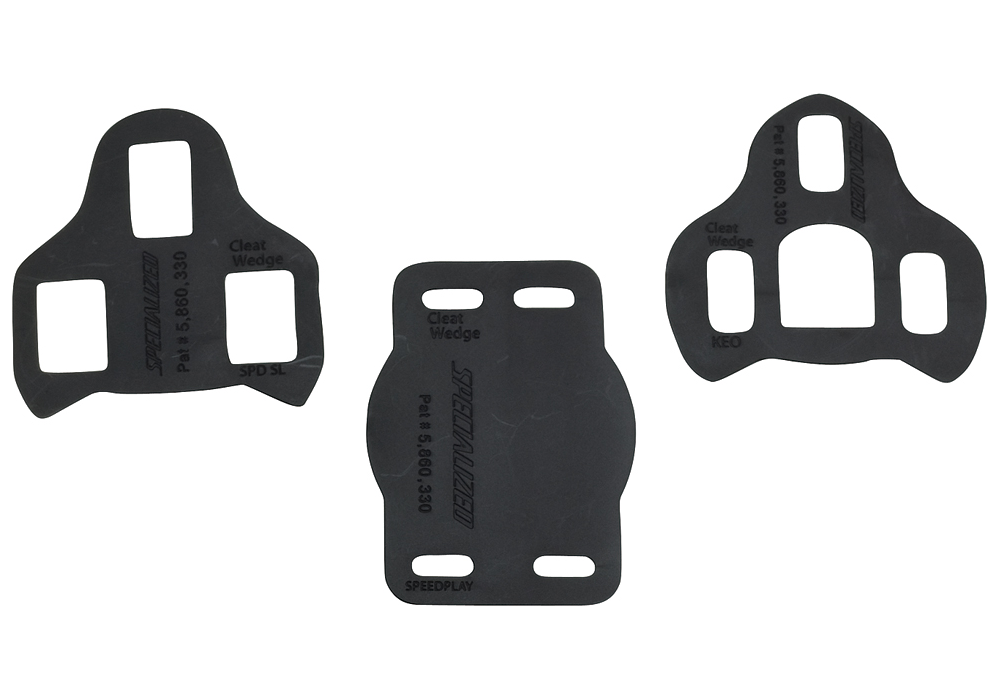 Specialized Pedalkloss Shims, BG Cleat Wedge 1mm, SPD SL