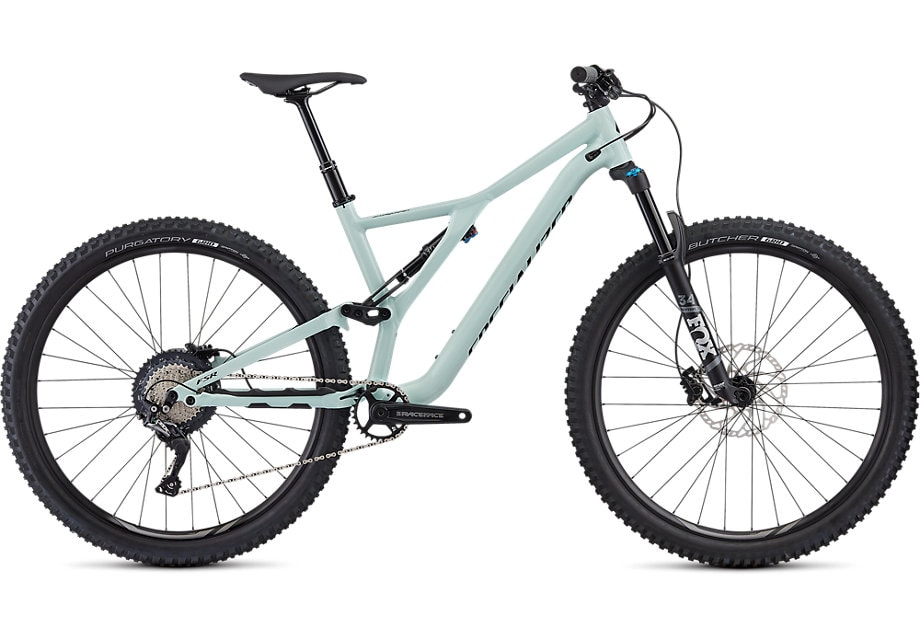 Specialized Cykel, Stumpjumper ST Comp Alloy 2020, GLOSS WHITE SAGE / BLACK