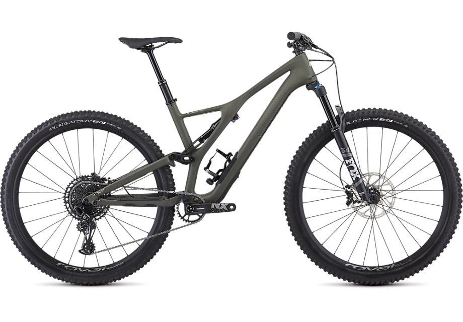 Specialized Cykel, Stumpjumper ST Comp Carbon 29 – 12-speed 2019, Satin/Oak/East Sierras