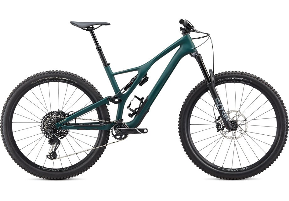 Specialized Cykel, Stumpjumper ST LTD Downieville 2020, Satin Jungle Green/Metallic Spruce