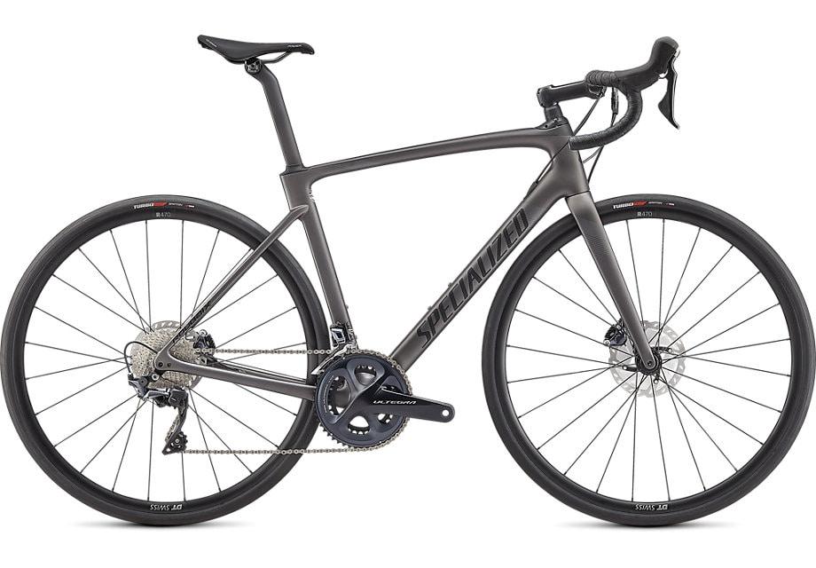 Specialized Cykel, Roubaix Comp 2021, Satin Smoke/Carbon/Black