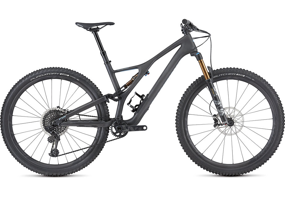 Specialized Cykel, Stumpjumper S-Works ST 29 2019, Satin Carbon/Storm Grey