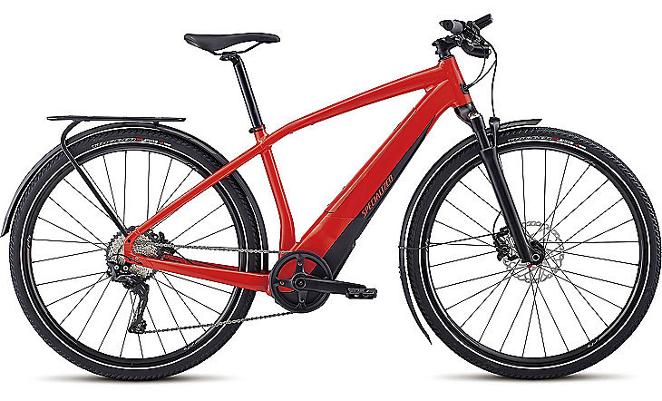 Specialized Cykel, Turbo Vado 4.0 2019, Satin Nordic Red/Black