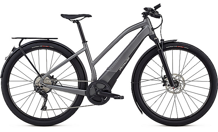 Specialized Cykel, Turbo Vado 6.0 Womens (45km/h) 2019, Gloss Charcoal/Black/Chrome