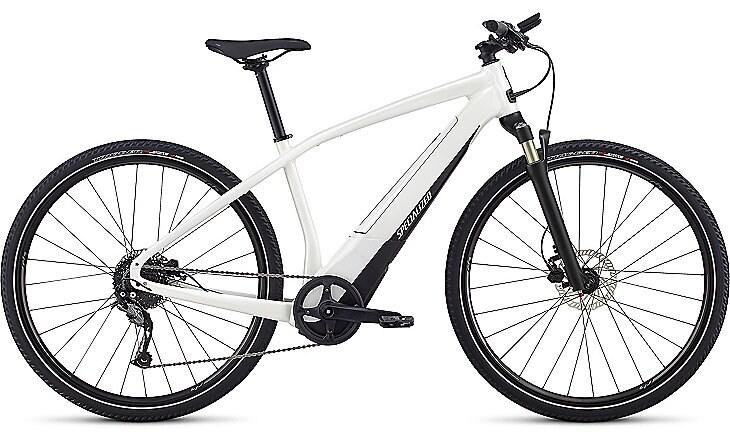 Specialized Cykel, Turbo Vado 2.0 2019, Satin Metallic White Silver/Black