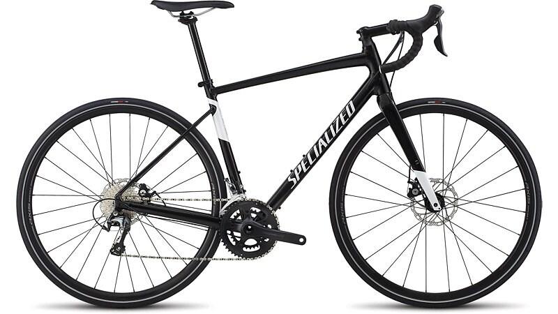 Specialized Cykel, Diverge Elite E5 2019, Gloss Tarmac Black/Metallic White Silver