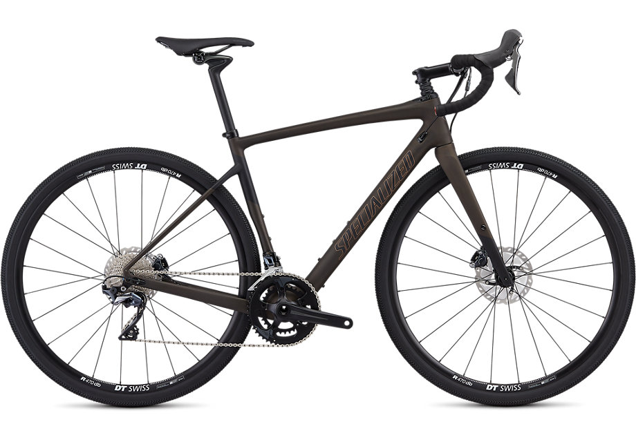 Specialized Cykel, Diverge Comp 2019, Satin Brown Tint/Black/Copper