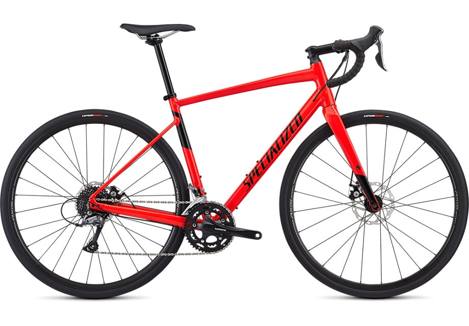 Specialized Cykel, Diverge E5 2019, Gloss Rocket Red/Black