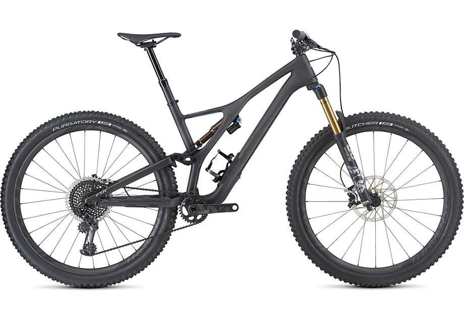 Specialized Cykel, Stumpjumper S-Works 29 2019, Satin Carbon/Storm Grey
