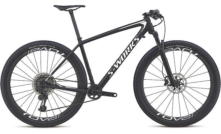 Specialized Cykel, Epic HT S-Works XX1 2018, Svart/vit