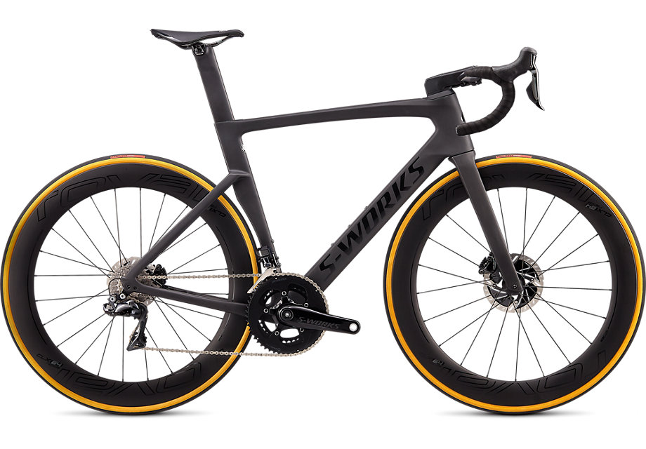 Specialized Cykel, Venge S-Works 2020, Satin Carbon/Tarmac Black