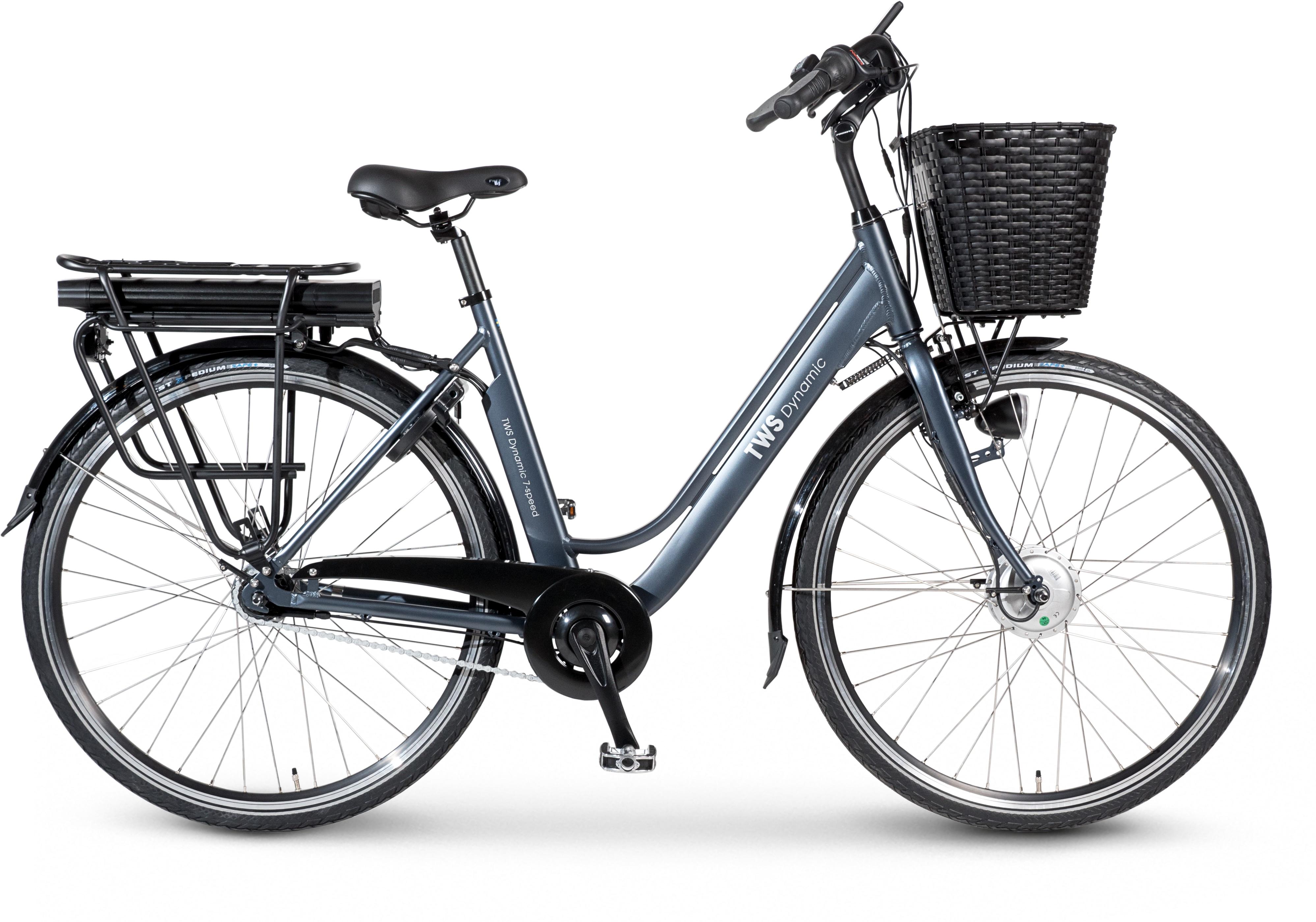 TWS Cykel, Dynamic 7 2020, Stålblå
