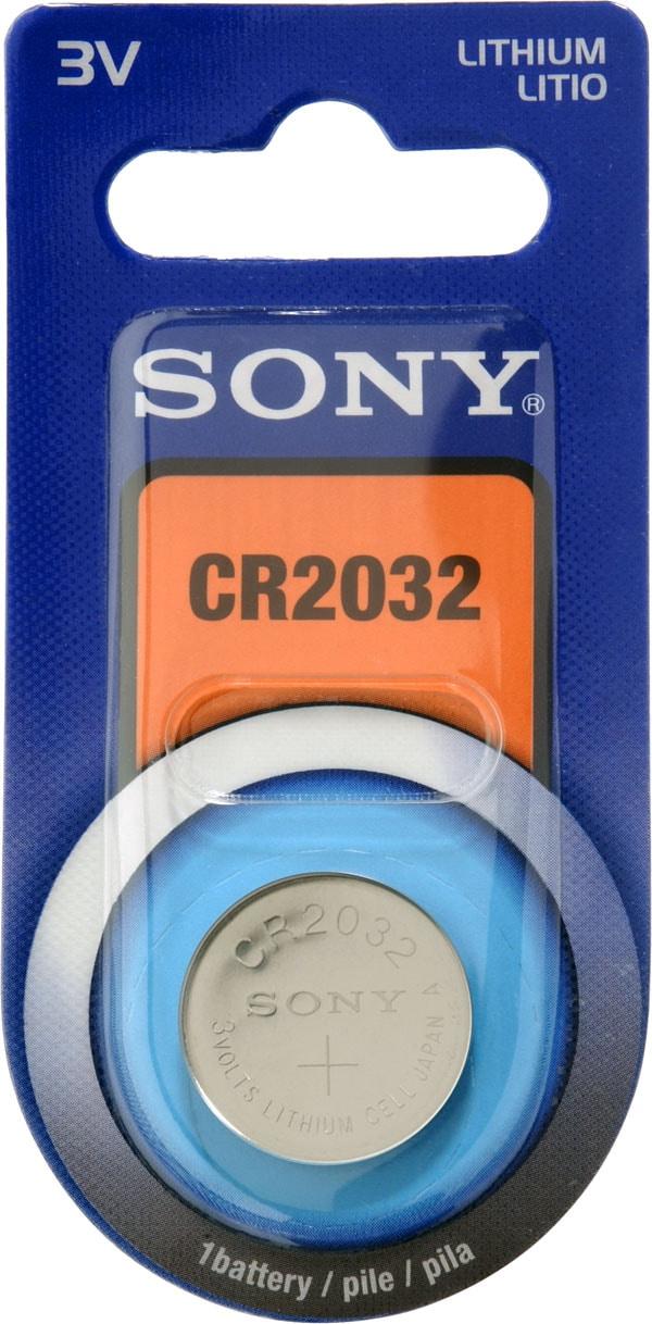 Maxell/Sony Batteri, CR2032