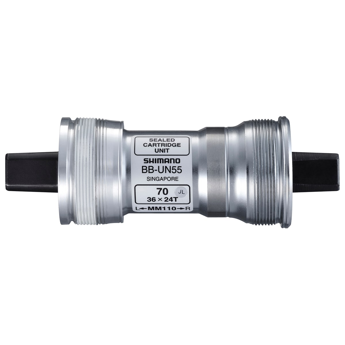 Shimano Vevlager, Square BSA BB-UN55 118/73mm