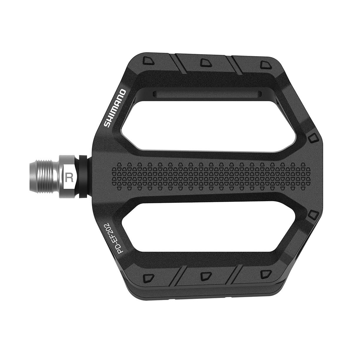 Shimano Pedal, Explorer EF202, Black