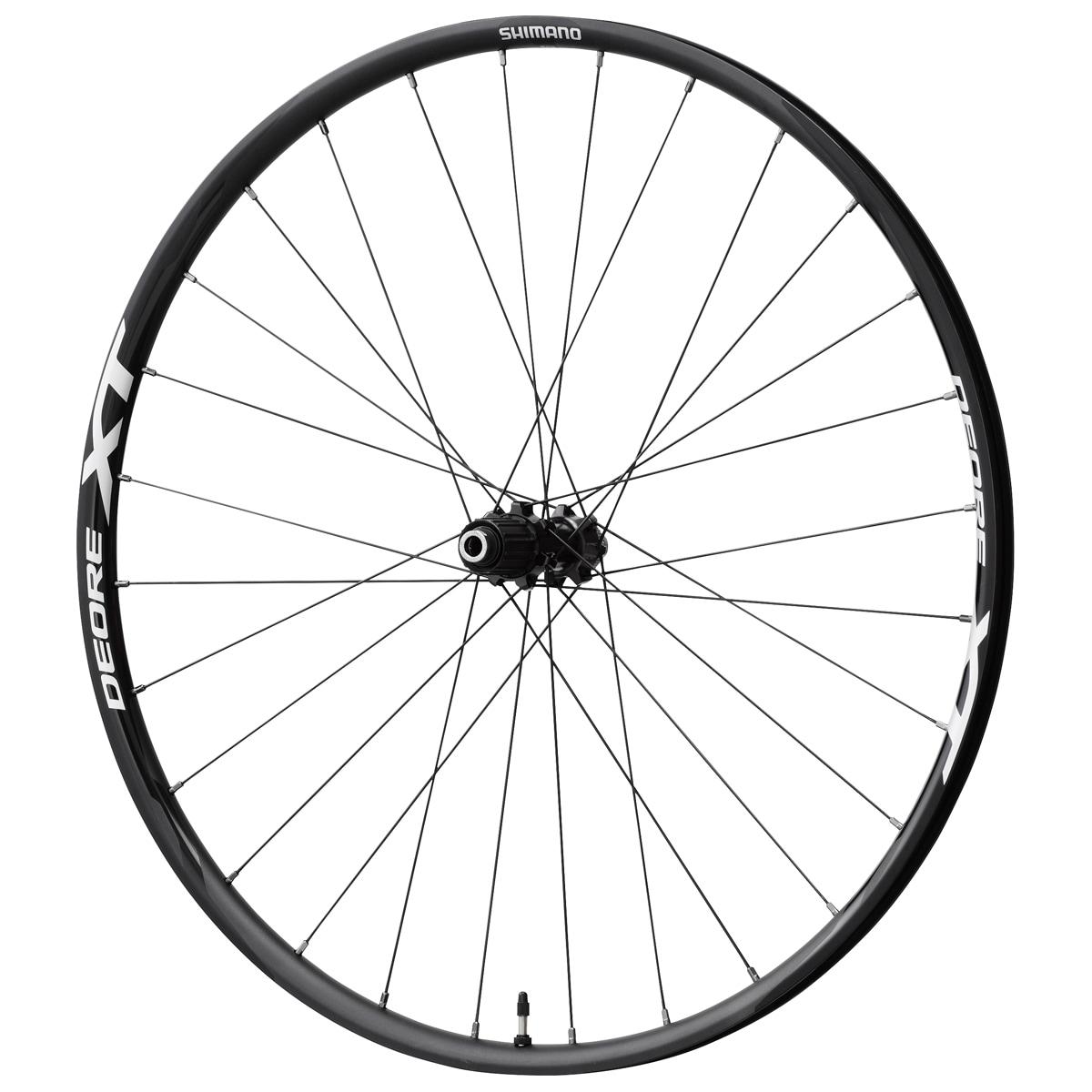 Shimano Hjul, XT M8020, Black/White