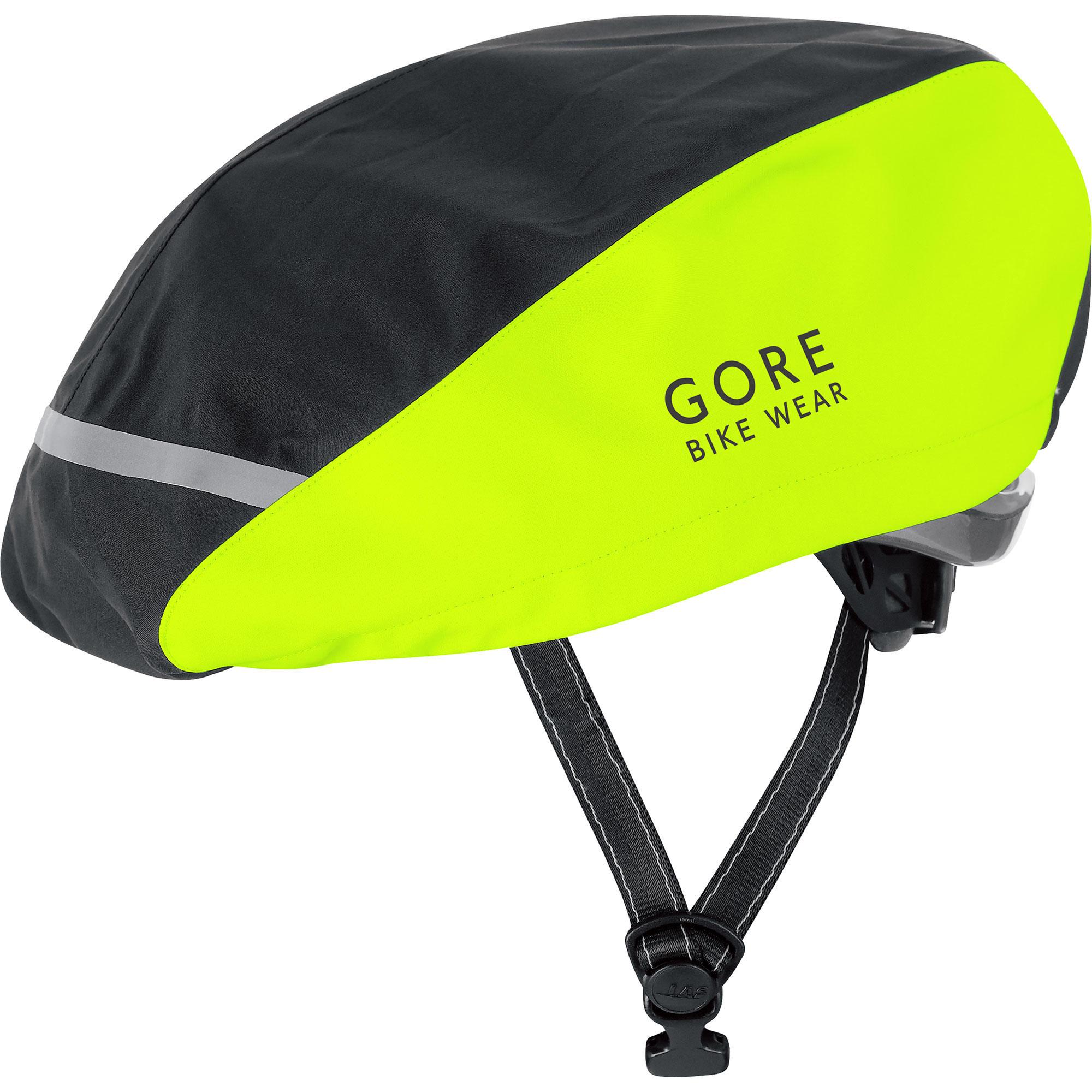 Gore Huvudbonad, Power Helmet Cover, Neongul/svart
