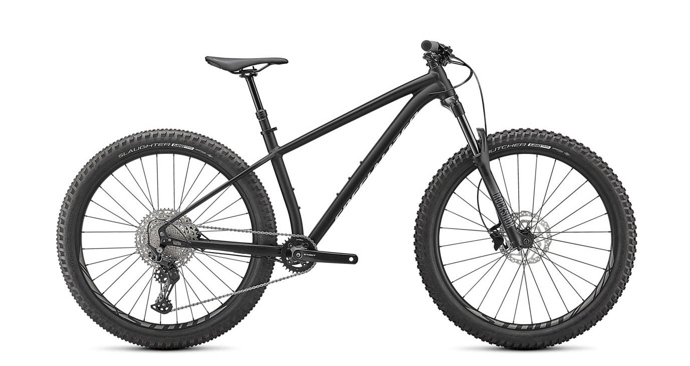 "Specialized Cykel, Fuse 27.5"" 2021, Gloss Tarmac Black / Abalone"