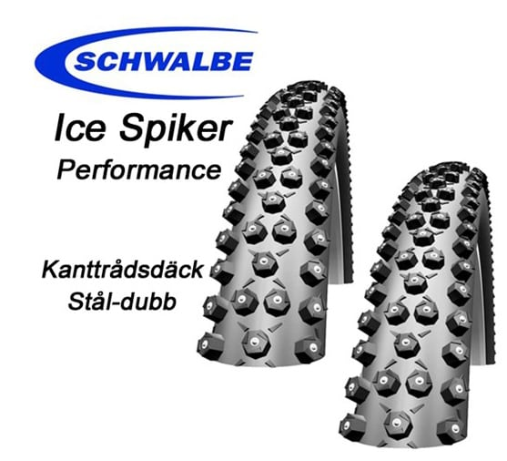 "Schwalbe Däck, Ice Spiker Pro, Performance, 29""x2.25"