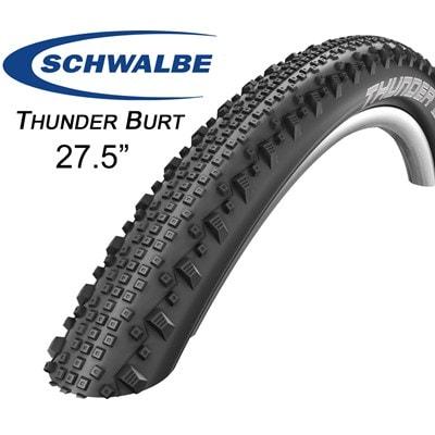 """Schwalbe Däck, Thunder Burt Evo TL SS, 27,5"""" X 2.25"""