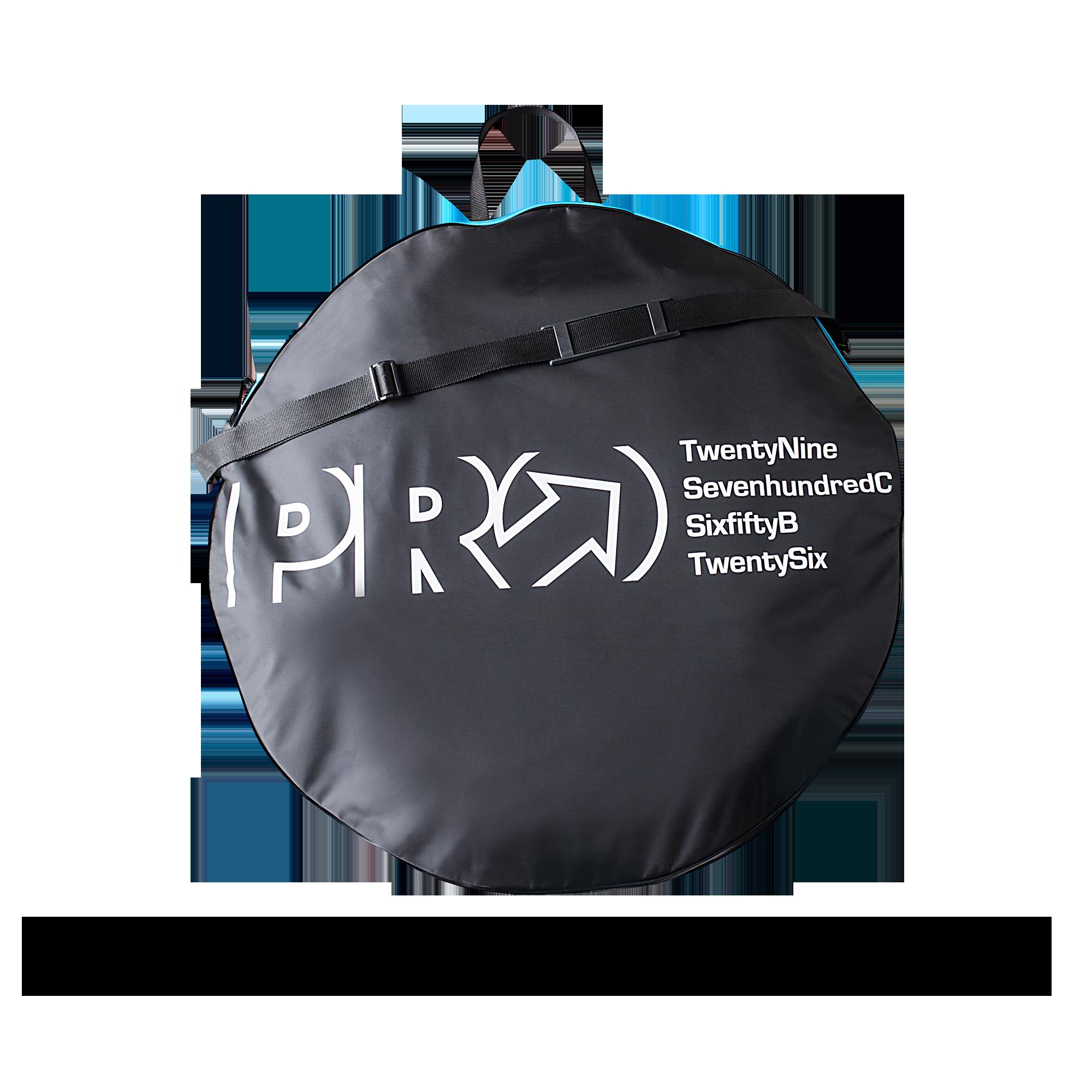 PRO Hjulväska, Double Wheelbag, Svart/Vit