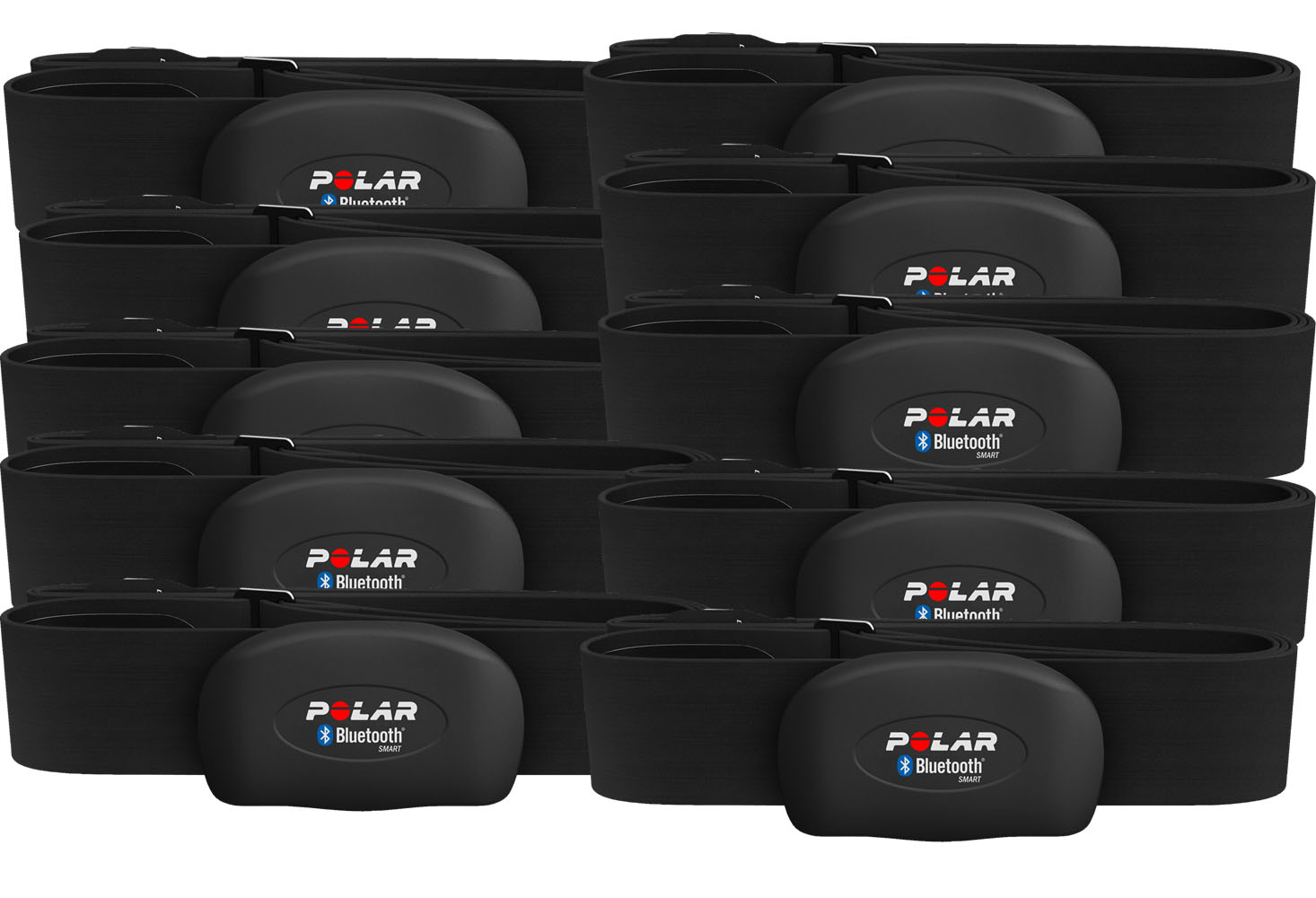 Polar Pulsband, H7 Bluetooth Smart 10-pack, Svart