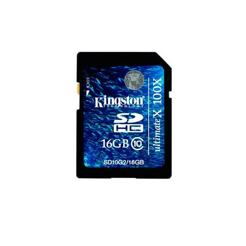 Kingston Minneskort, 16 GB SDHC-kort