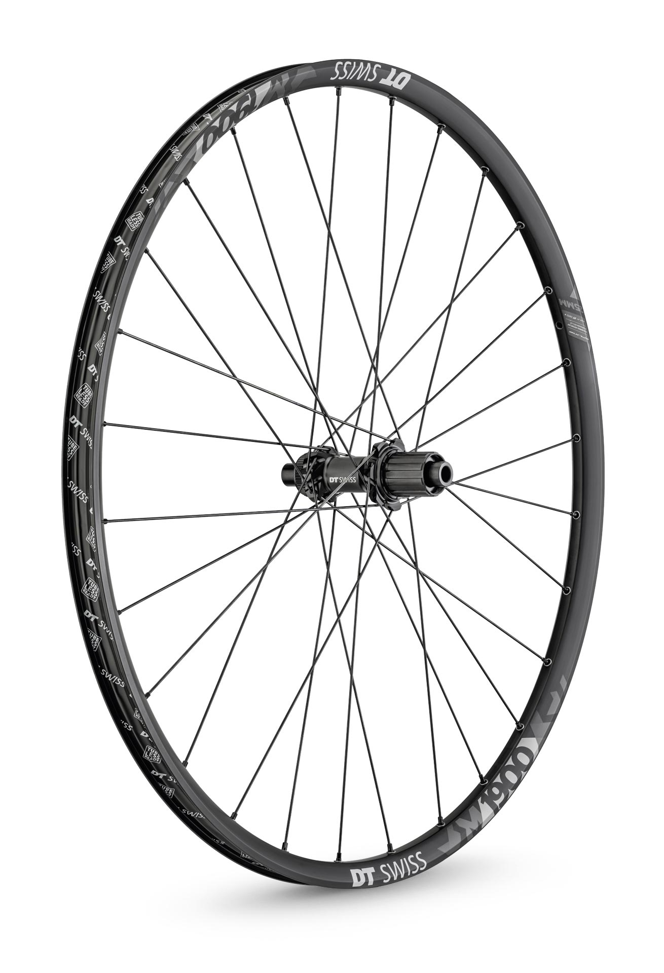 DT Swiss Hjul, M 1900 Spline® 25, Black/Grey