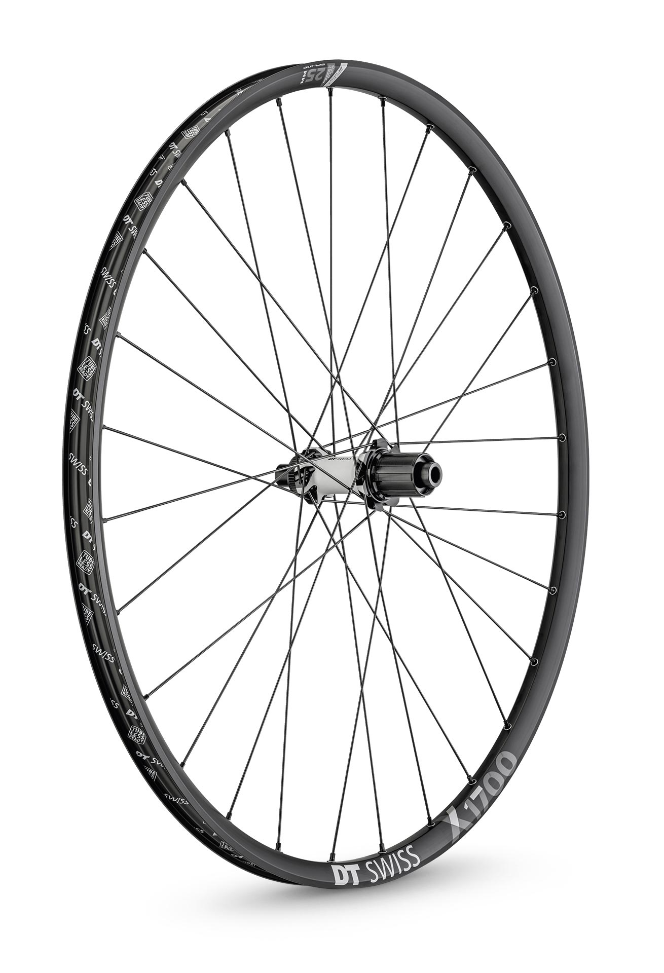 DT Swiss Hjul, X 1700 Spline® 25, Black