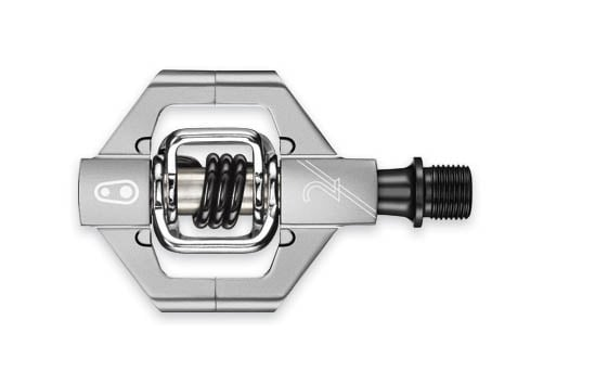 CrankBrothers Pedal, Candy 2 Silver/svart