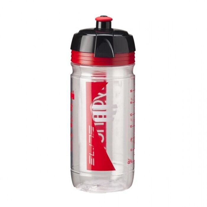 Elite Flaska, Corsa 550ml Vit/röd