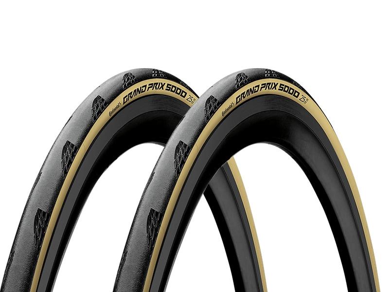 Continental Däck, Grand Prix 5000 Special Edition Tour de France, 622x25 2-pack