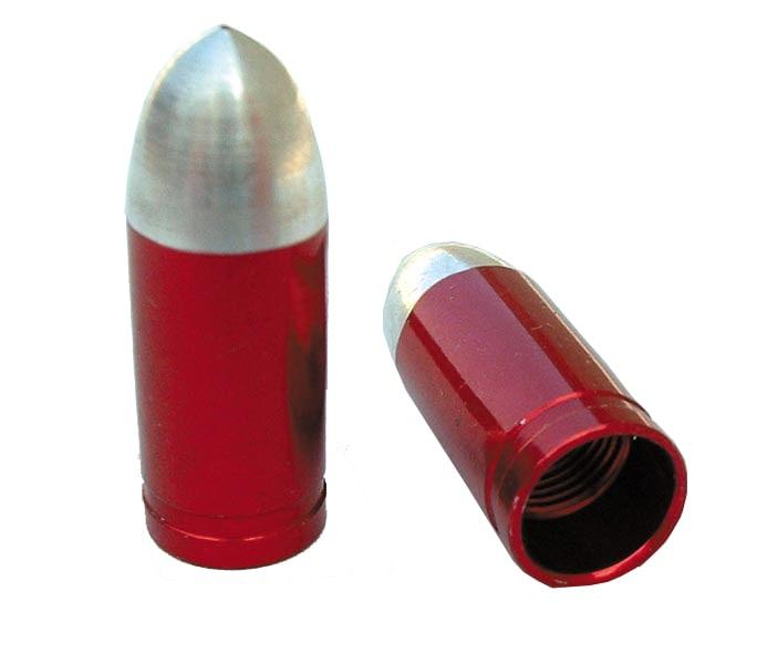 IDENTITI Ventilhatt, Bullet Bilventil, Röd