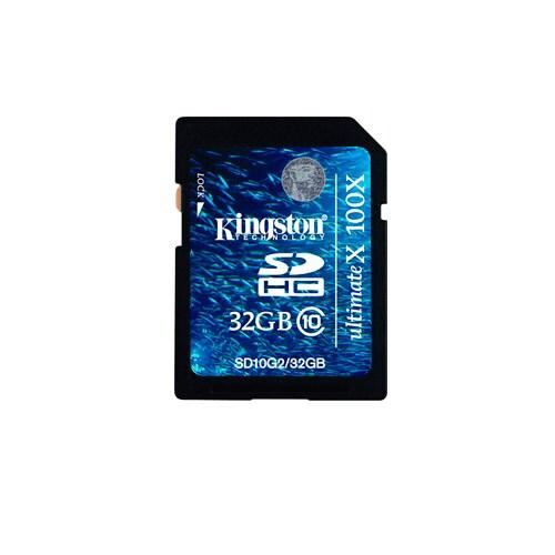 Kingston Minneskort, 32 GB SDHC-kort
