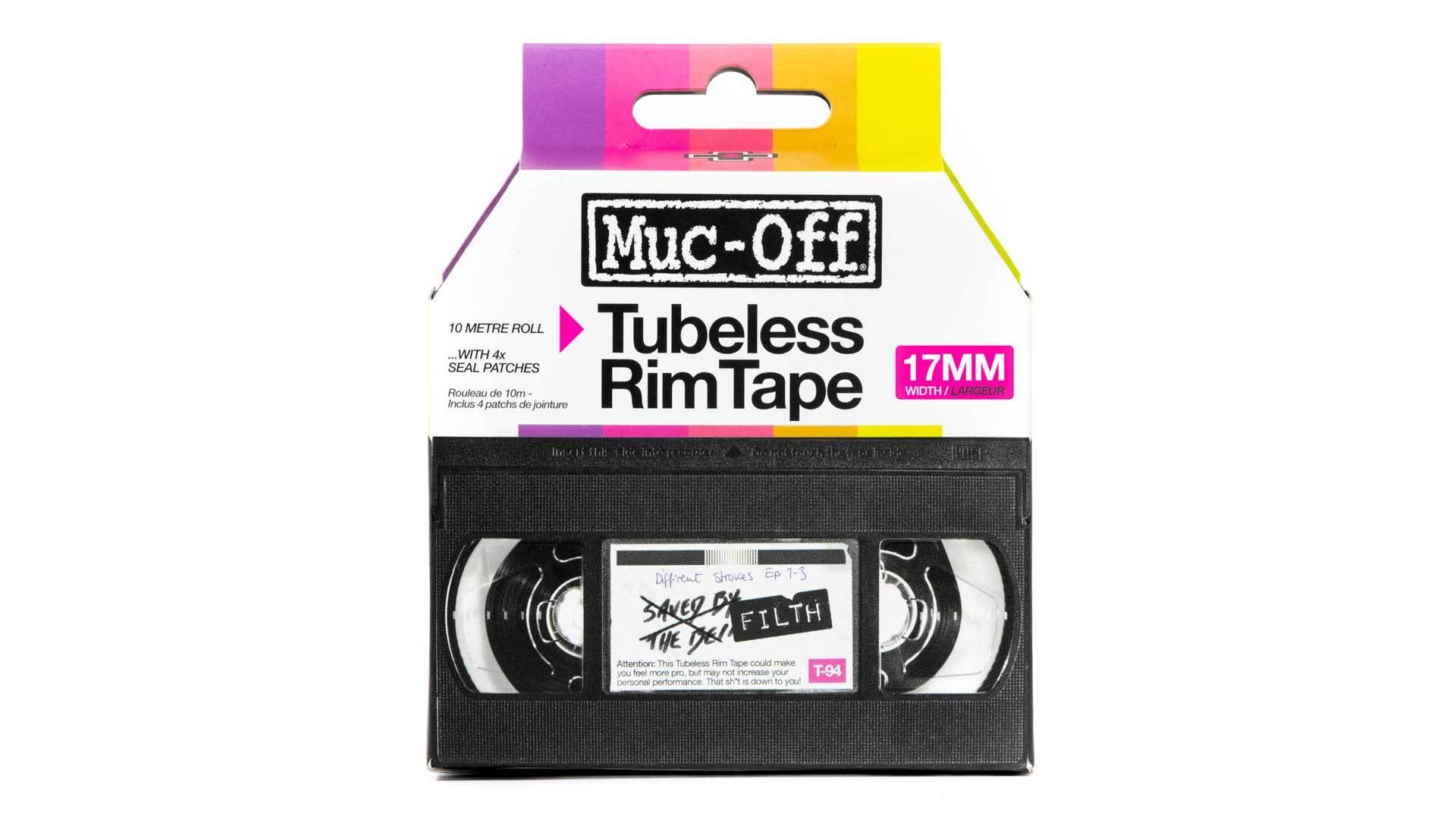 Muc-Off Fälgband, Tubeless RimTape 10m, Diverse Breddalternativ