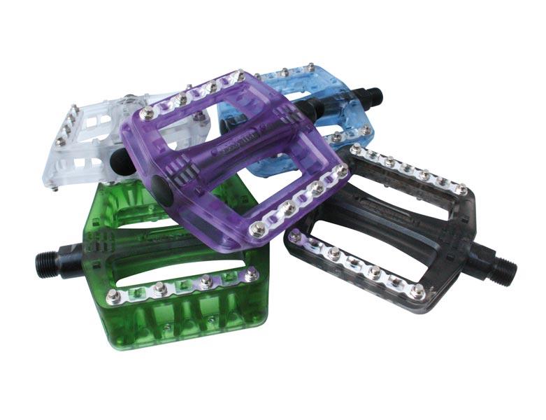 Gusset Pedaler, Pinhead Plastic LB, Diverse Färgalternativ