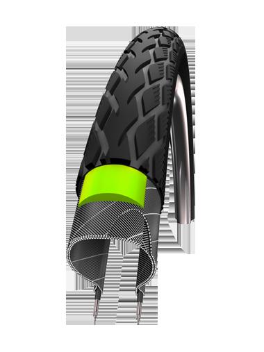 Schwalbe Däck, Marathon Reflex, Green Guard, 622